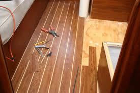 teak and holly plywood flooring