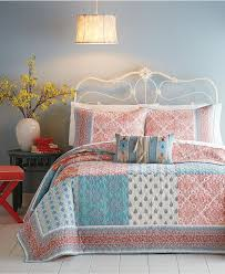 Best 25+ Quilted bedspreads ideas on Pinterest | Bedspreads, Gray ... & Jessica Simpson Indian Sunrise Quilt - Quilts & Bedspreads - Bed & Bath -  Macy's Adamdwight.com
