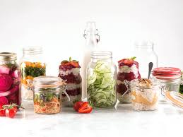 glass storage containers with lids food