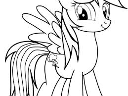 Small Picture Rainbow Dash Colouring Pages Online 16 Rainbow Dash Coloring Pages