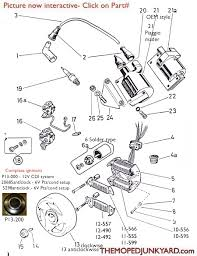 diagram reference p13 puch ignition parts