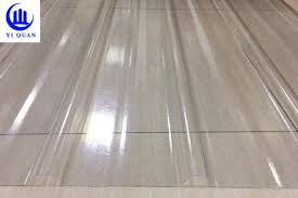 transpa corrugated clear polycarbonate roofing sheets wave or tzoidal images