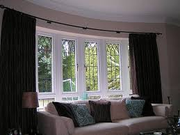 Smartly Small Bay Windows Bay Window Curtain Ideas Treatments Forthat  Curtains As Wells As Small Bay