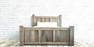 Corona Mexican Pine King Size Bed Frame Nordic Wood Rustic Wonderful ...