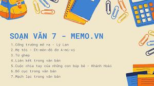 Soạn bài: Văn bản báo cáo - Soạn văn 7 siêu ngắn - Memo.vn
