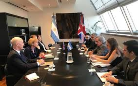 UK/Argentina discuss trade and business opportunities, but also Malvinas —  MercoPress