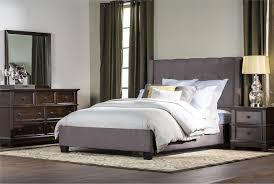 Damon Queen Upholstered Platform Bed - Living Spaces | Home ...