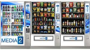 Crane Vending Machine Fascinating Crane Merchandising Systems To Preview MEDIA48 User Experience For