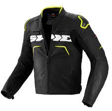 spidi evorider leather black yellow clothing jackets spidi tank jacket luxury lifestyle brand