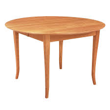 classic shaker flare leg round dining table
