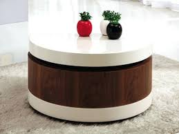 round storage table awesome round coffee table with storage with lovable round coffee table with storage