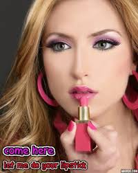 pucker up for me sissy princess sissy feminization captions