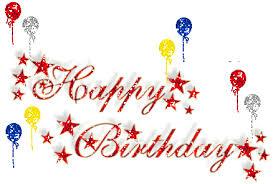 happy birthday images animated happy birthday glitter balloons sparkly animated gif popkey