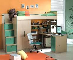kids beds with storage and desk. Wonderful Kids Bunk Bed With Storage And Desk Loft Shelves Odd Beds  Kids Computer Wardrobe Many Designs Low  On O