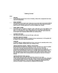 Catering agreements in the united states are generally subject to the laws of the individual state and follow general commercial contract rules. 2021 Catering Contract Template Fillable Printable Pdf Forms Handypdf