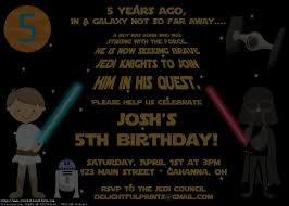 star wars birthday invite template birthday party invitations marvellous star wars birthday invitation