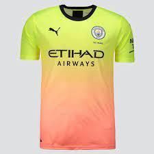 Puma Manchester City Third 2020 10 Kun Agüero Jersey - FutFanatics
