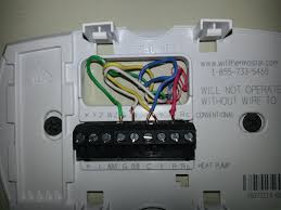 honeywell rth3100c thermostat wiring diagram honeywell rth3100c programming at Rth3100c Wiring