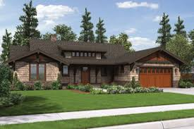 house plans one story. Perfect Story Craftsman Ranch House Plan 48600 Front Intended House Plans One Story A
