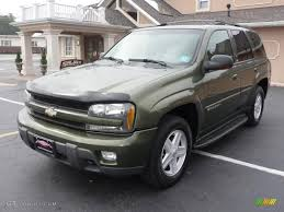 2002 Medium Sage Green Metallic Chevrolet TrailBlazer LTZ 4x4 ...