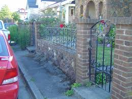 wrought iron fence brick. Brick \u0026 Wrought Iron Fence | By Exterior Encounters O