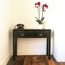 black sofa table with drawers photo 7