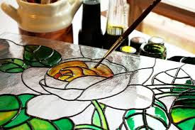 diy stained glass window if you dare