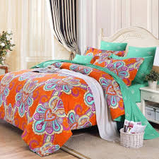 orange bedding sets queen  spillo caves