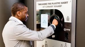 Vending Machine Refill Job Best Canary Wharf In London Installs A Special Vending Machine For