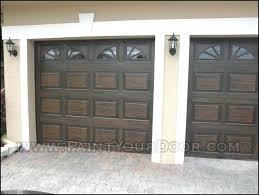 painting a garage door wood gain painted garage doors paint garage door with roller or brush painting a garage door