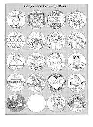 Small Picture Mormon Share General Conference Coloring Page