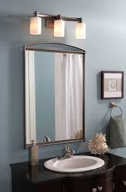 lighting fixtures for bathrooms. perfect lighting for large mirrors a strip of horizontal vanity lights will ensure that  each person has sufficient light mount the 78 inside lighting fixtures bathrooms