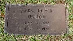 Clara Priscilla Oliver Madden (1893-1979) - Find A Grave Memorial