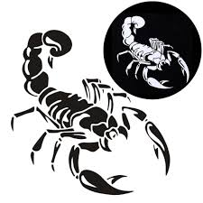 Car stickers scratches shelter vinyl cute scorpion car styling decal sticker car acessories decoration motorcycle
