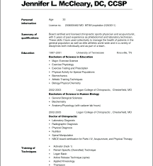 Medical Resume Templates With Science Resume Undergraduate Resume ...