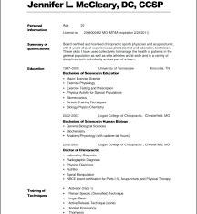 Medical Resume Templates With Science Resume Undergraduate Resume ...