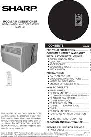 sharp air conditioner af q100px user guide manualsonline com Air Conditioner Schematic Wiring Diagram Sharp Air Conditioner Wiring Diagram #22