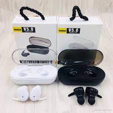 Satın Al TWS 03 Bluetooth 5.0 Kulaklık Bas Ture Stereo Kulaklık TWS 03  Akıllı Telefonlar Için Mic Ile Kulaklık Kutusu Ile Kablosuz Kulaklık Spor  Kulaklık, TL72.4