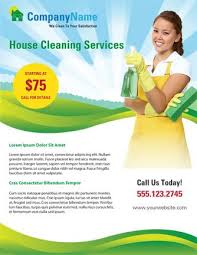 advertising a cleaning business use this home cleaning flyer template to advertise your cleaning