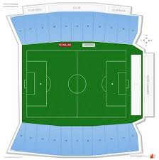Toyota Stadium Football Seating Chart Toyota Stadium Soccer Seating Guide Rateyourseats Com