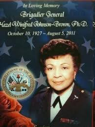 1979 -Brigadier General Hazel W. Johnson-Brown became the first black woman  general officer and the first… | African american history, Army nurse,  Liberal education