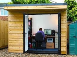 building a garden office. How-about-building-a-garden-office-for-your- Building A Garden Office