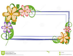 Web Page Logo Flowers Floral Stock Illustration