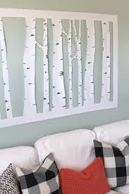 the craft patch large inexpensive diy aspen tree wall art pertaining to large inexpensive on large inexpensive wall art diy with 20 photos large inexpensive wall art wall art ideas