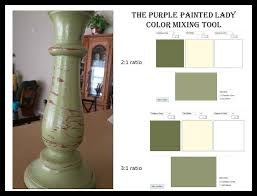 Annie Sloan Chalk Paint Mixing Chart Color Mixing Tool Both Chalk Paint And Miss Mustard Seed