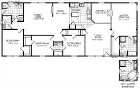 stunning 4 bedroom 3 bath regarding floor plans internetunblock us