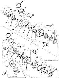 Polaris trail boss 250 wiring diagram 1991 source · 1978 yamaha exciter 440 ex440b crank piston parts best oem crank piston parts