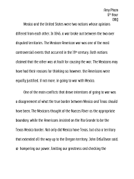 mexican revolution essay power of words essay pancho villa essay  mexican american war essay writing dbq was the united states justified in going to war