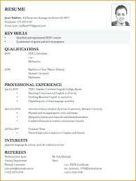 Resume For Job Application Example Breathelight Co