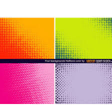 Colour Backgrounds Free Halftone Backgrounds In Colors Download At Vectorportal
